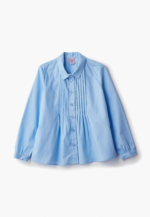 Купить Блуза Sela, se001egbwyi8, голубой, Осень-зима 2018/2019