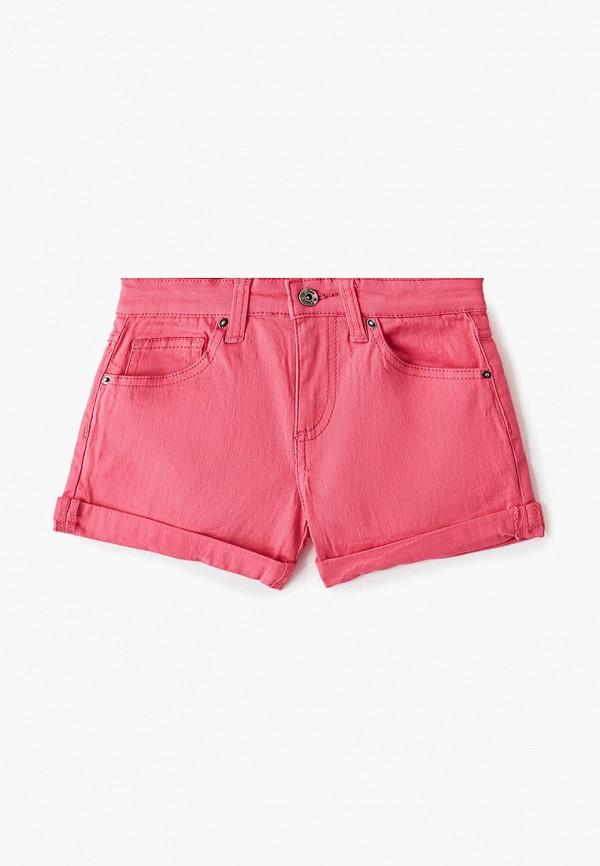 шорты sela для девочки, розовые