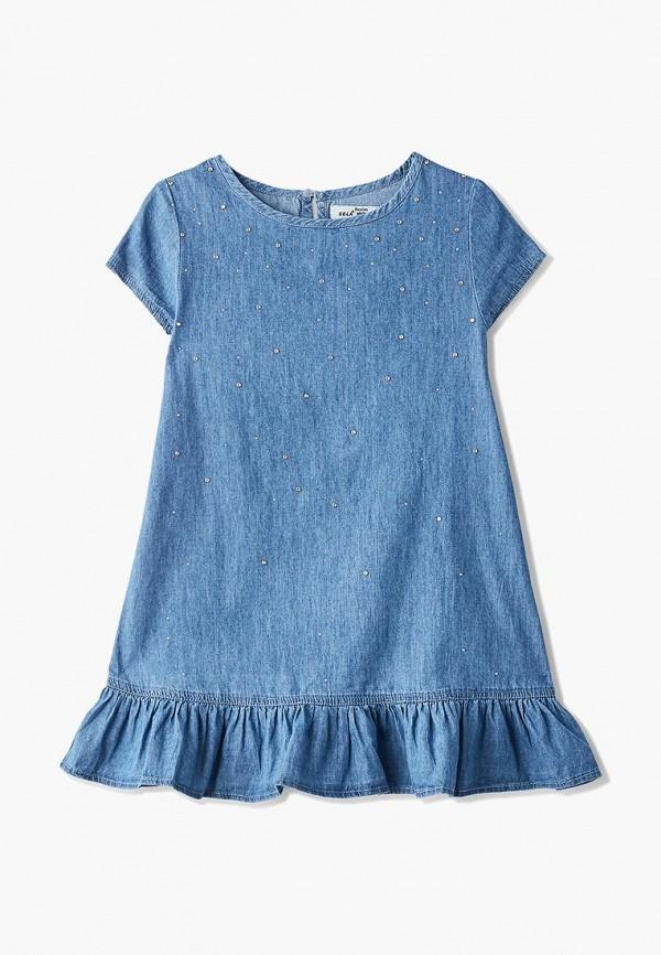 Платье джинсовое Sela Sela SE001EGDUEM2 цена