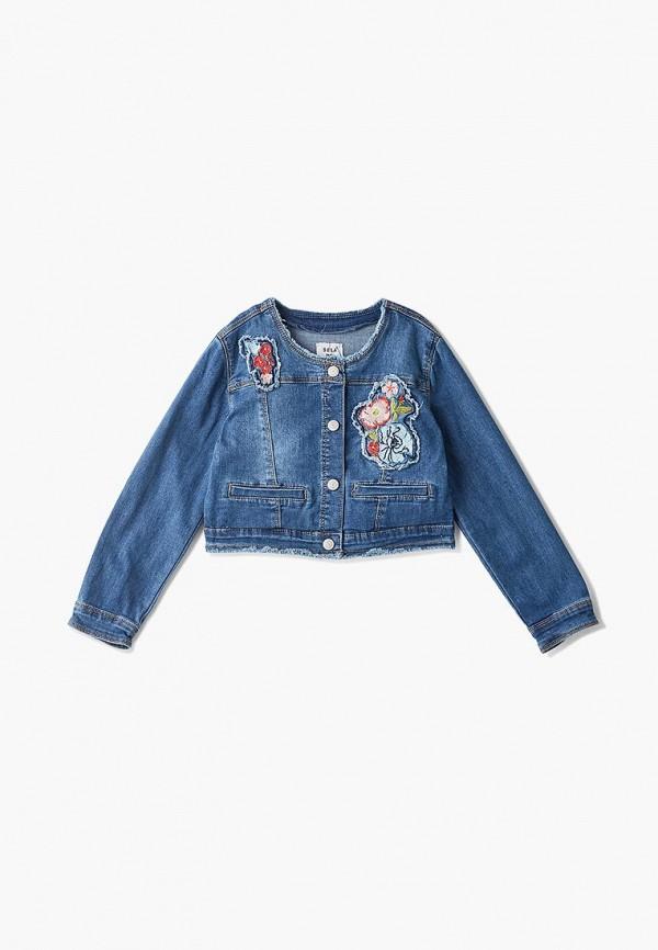 Куртка джинсовая Sela Sela SE001EGDUEQ5 блузка женская sela цвет синий bks 112 558 8293 размер xxl 52