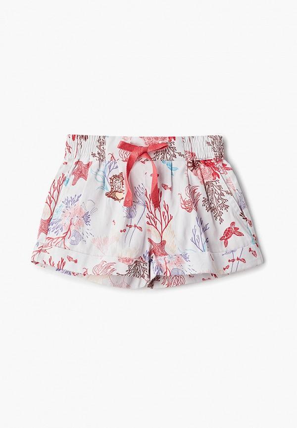 шорты sela для девочки, белые