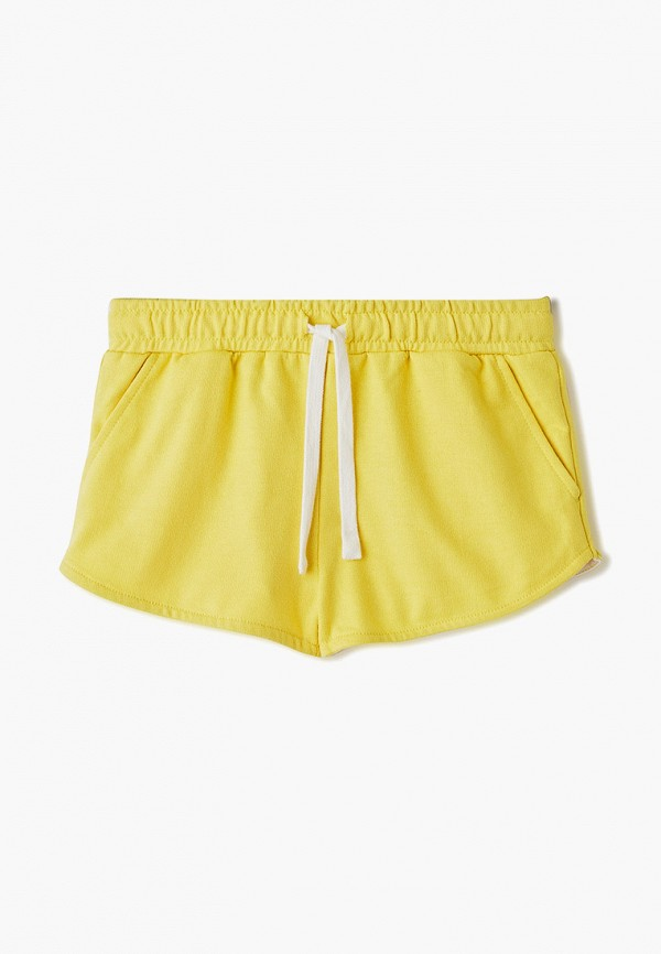 шорты sela для девочки, желтые