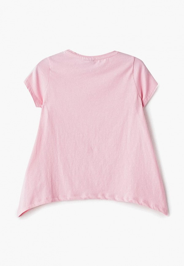 Фото 2 - Футболку Sela розового цвета