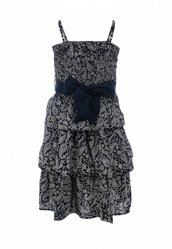 Фото - платье или сарафан для девочки Sela синего цвета