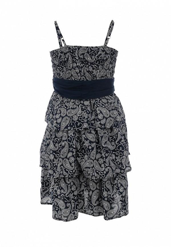 Фото 2 - платье или сарафан для девочки Sela синего цвета