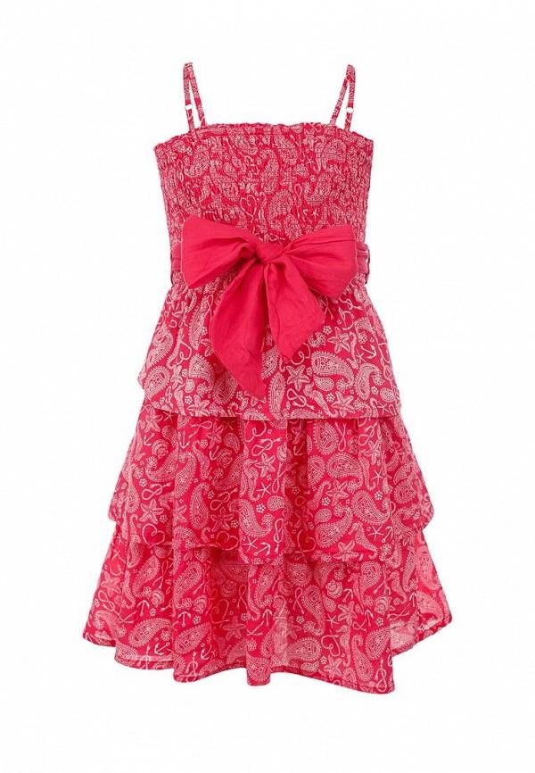 повседневные сарафан sela для девочки, розовый