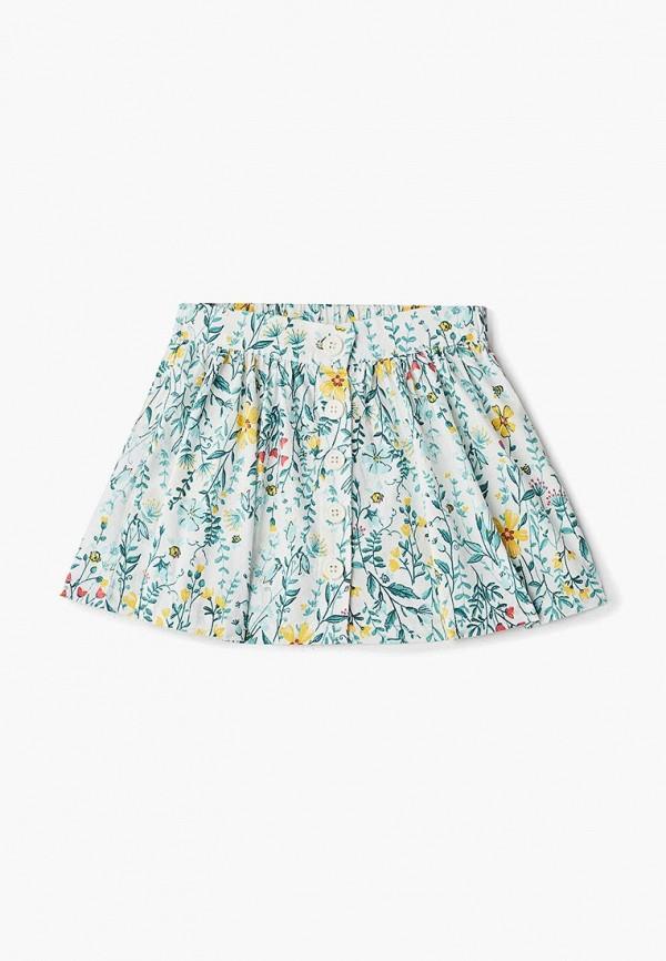 юбка sela для девочки, белая