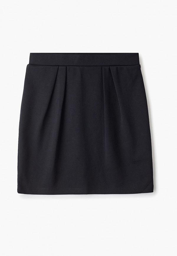 юбка sela для девочки, черная