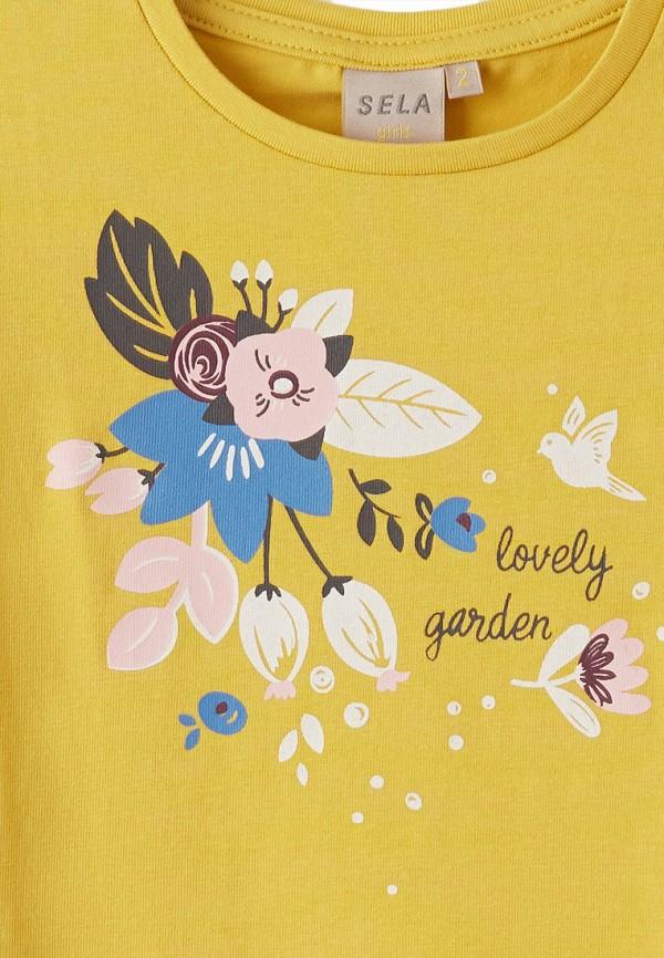 Лонгслив для девочки Sela T-511/609-9341 Фото 3