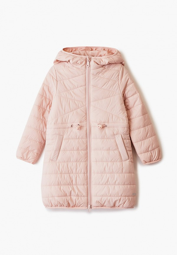 куртка sela для девочки, розовая