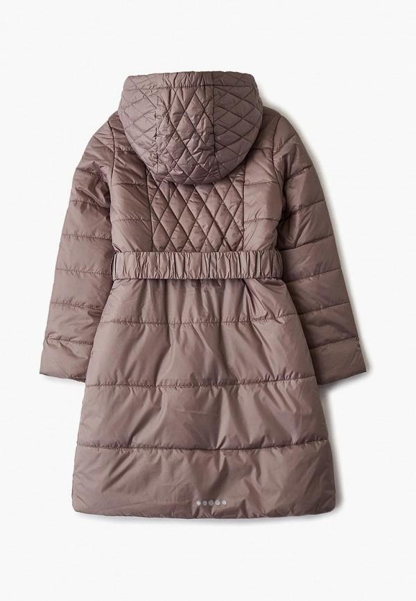 Фото 2 - Куртку утепленная Sela коричневого цвета