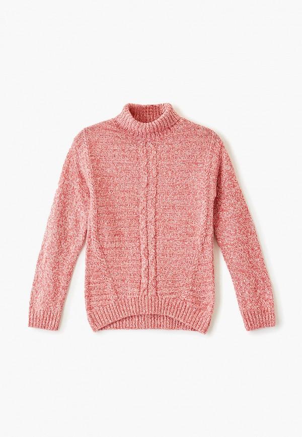 свитер sela для девочки, красный