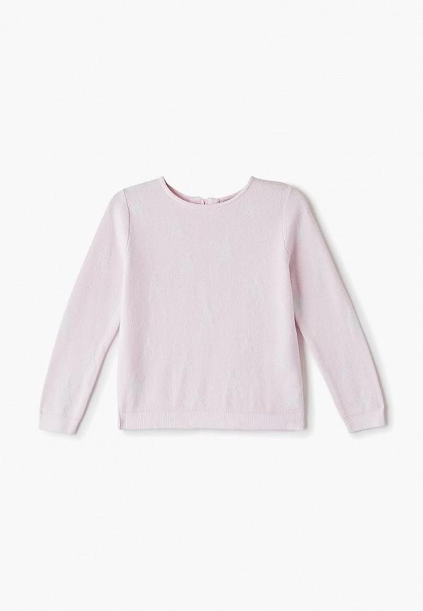 кардиган sela для девочки, розовый