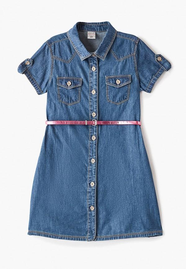 Платье джинсовое Sela Sela SE001EGGCLR7 цена
