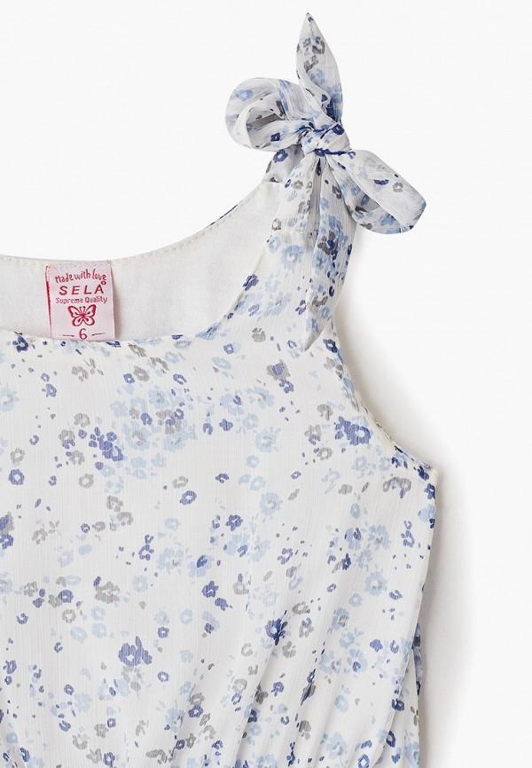 Фото 3 - Платье Sela белого цвета