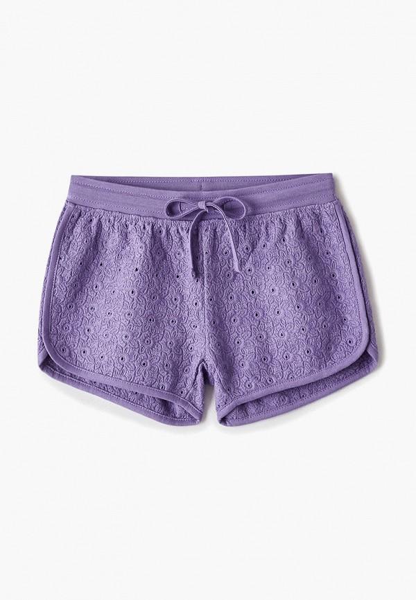 шорты sela для девочки, фиолетовые