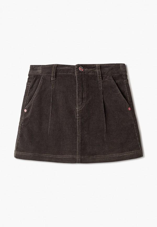 юбка sela для девочки, хаки