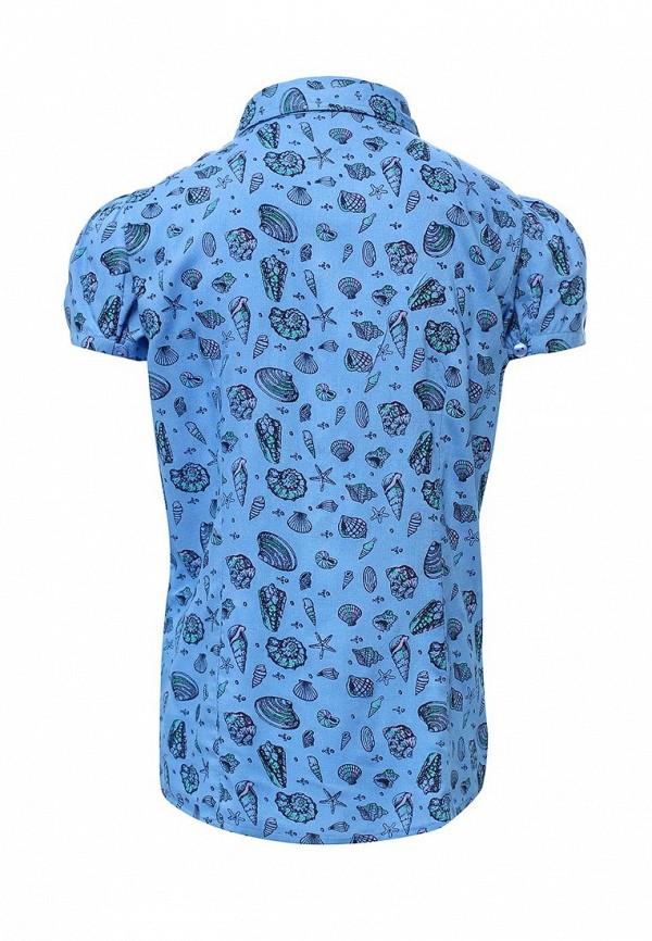 Фото 2 - Блузу Sela синего цвета