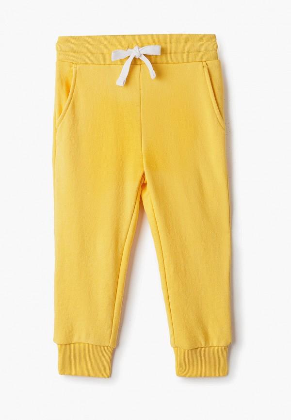 спортивные брюки sela для девочки, желтые