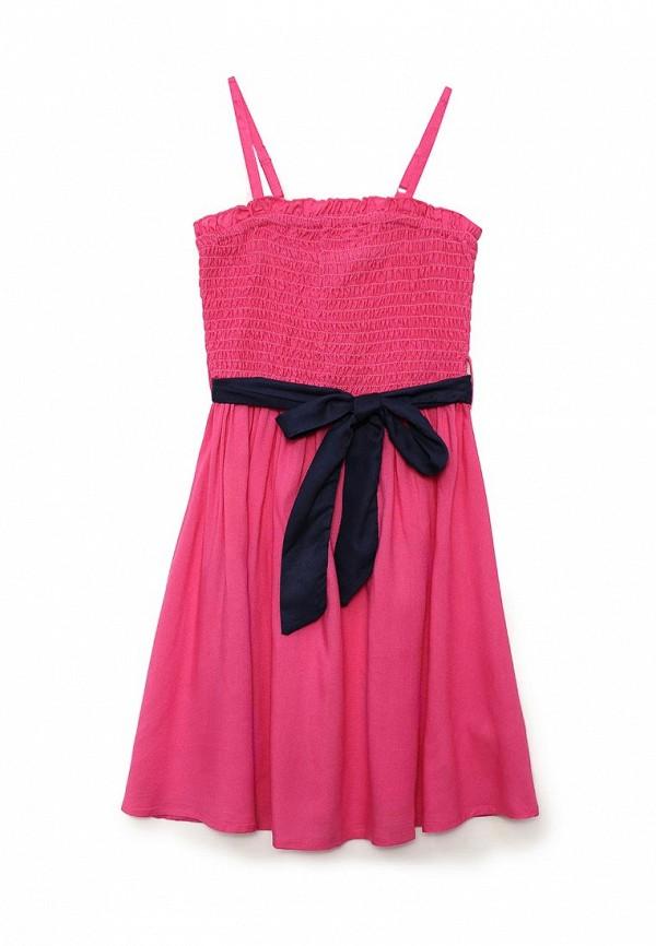 сарафан sela для девочки, розовый
