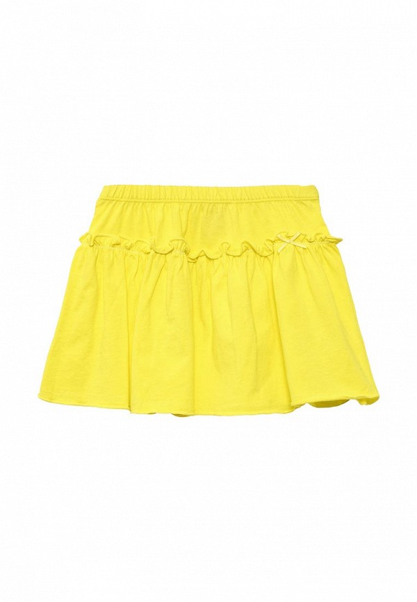 юбка sela для девочки, желтая