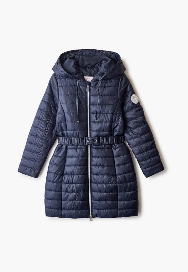 куртка sela для девочки, синяя