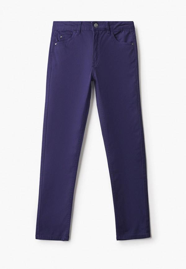 брюки sela для девочки, синие