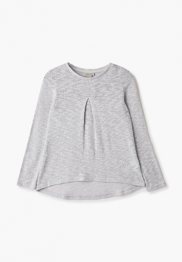 джемпер sela для девочки, серый