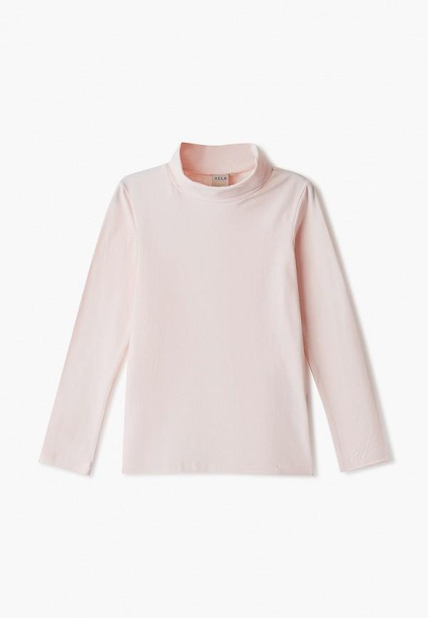 водолазка sela для девочки, розовая