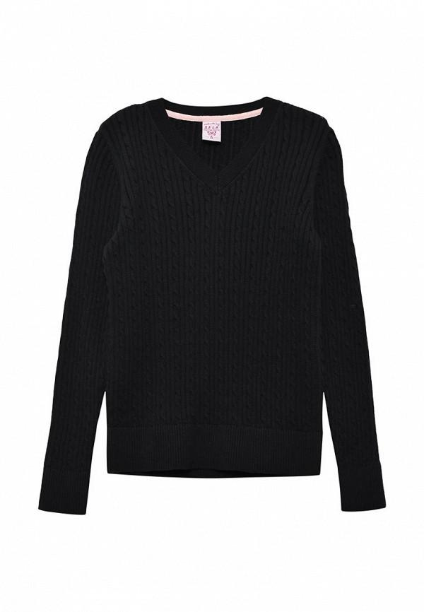 пуловер sela для девочки, синий