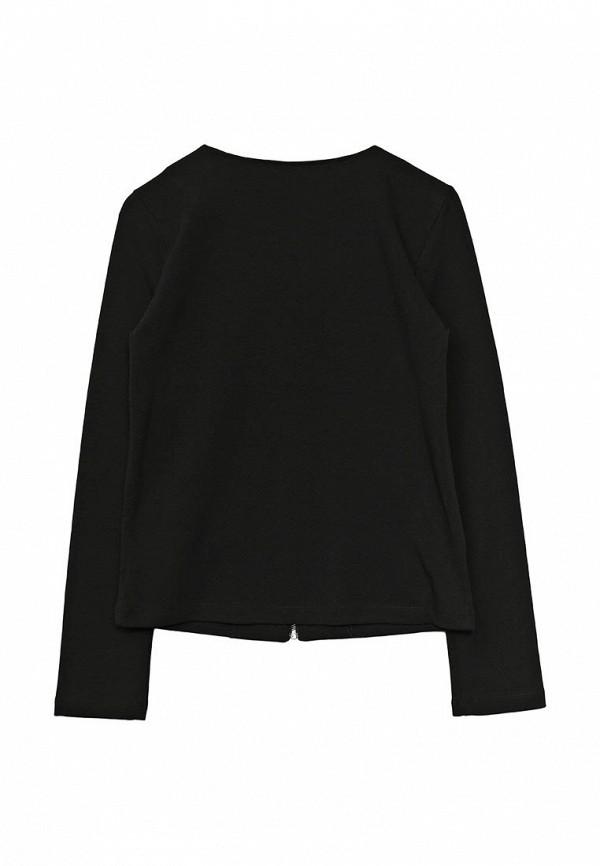 Фото 2 - пиджак или жакет для девочки Sela черного цвета