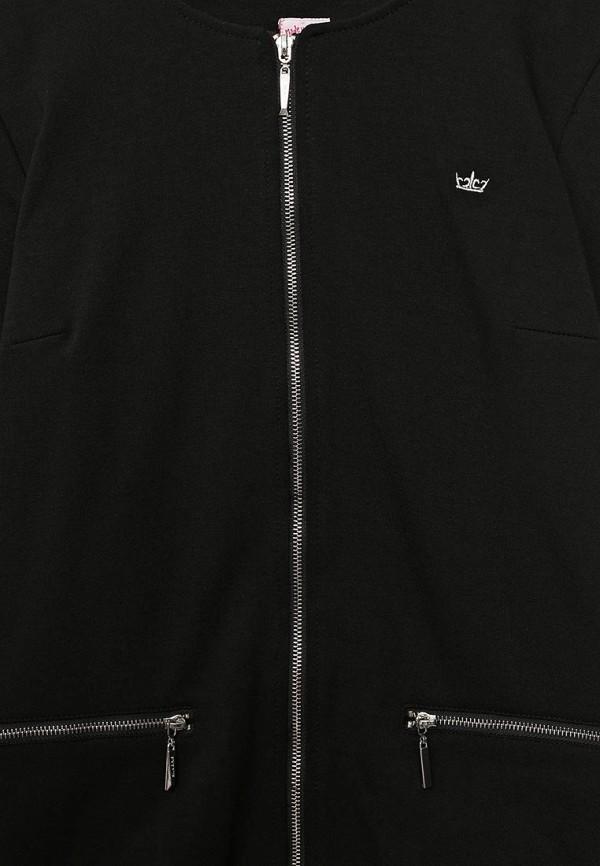Фото 3 - пиджак или жакет для девочки Sela черного цвета