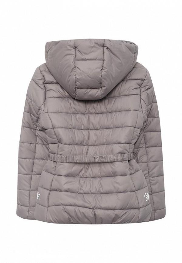 Фото 2 - Куртку утепленная Sela серого цвета