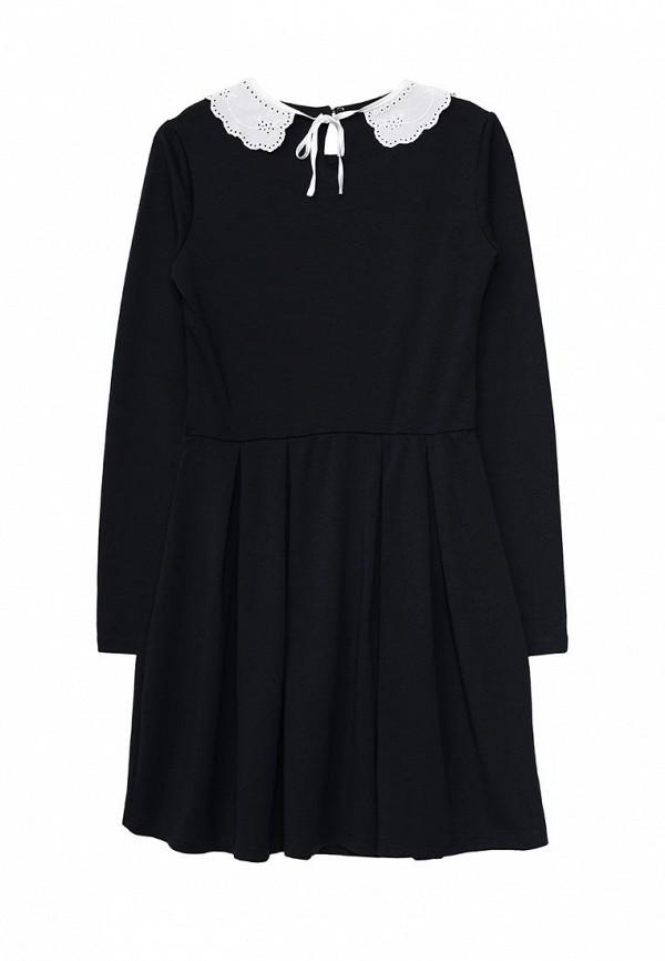 Фото 2 - Платье Sela синего цвета