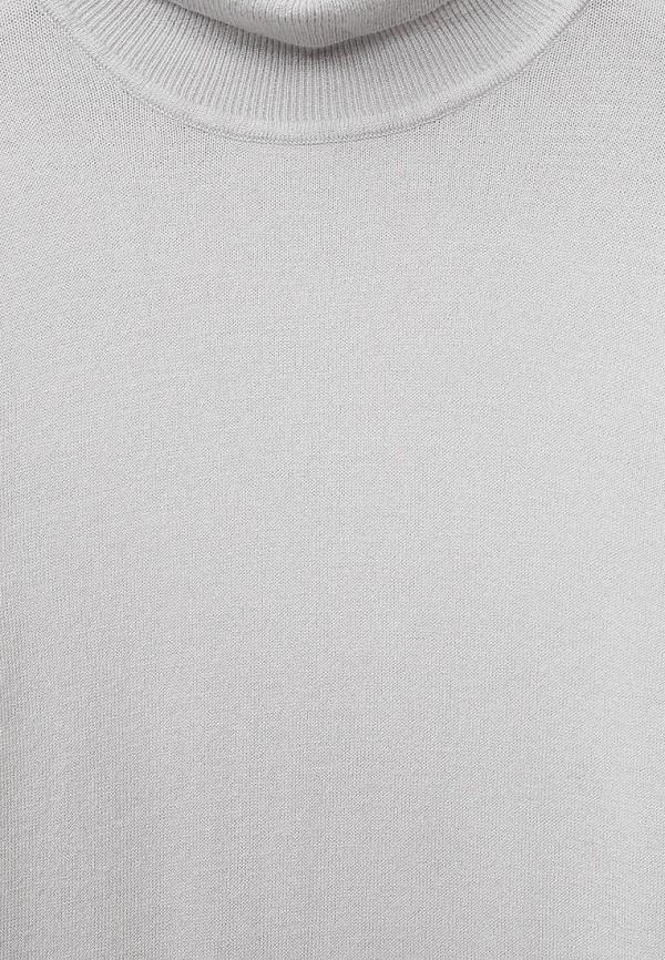 Фото 3 - Водолазка Sela серого цвета