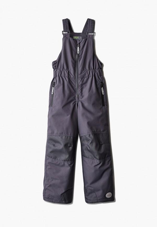 брюки sela для девочки, серые
