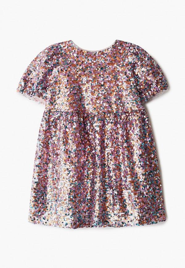 платье sela для девочки, разноцветное