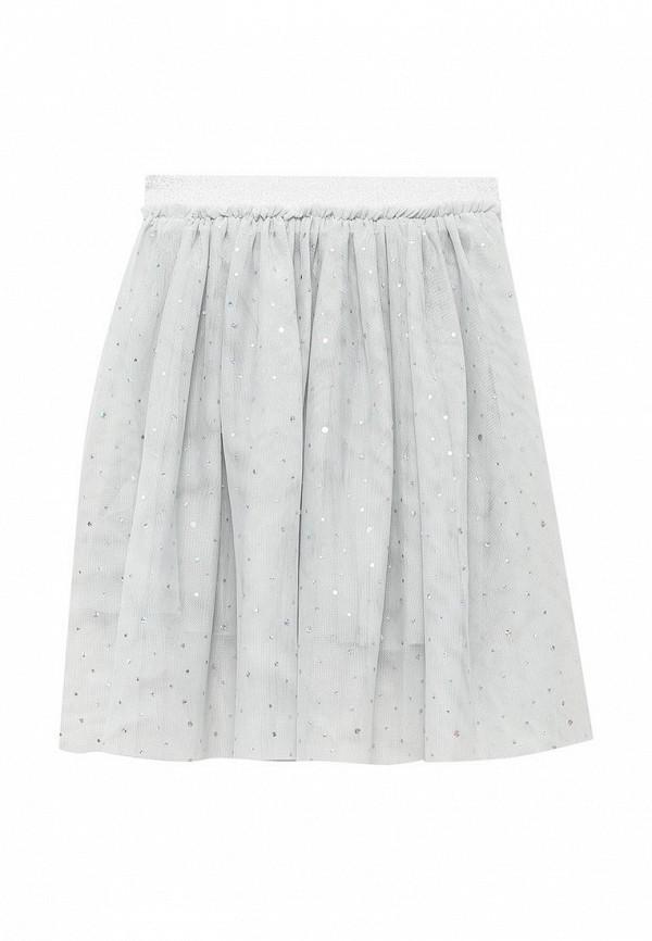 юбка sela для девочки, серая