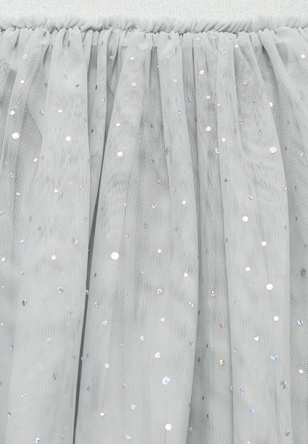 Фото 3 - Юбку Sela серого цвета