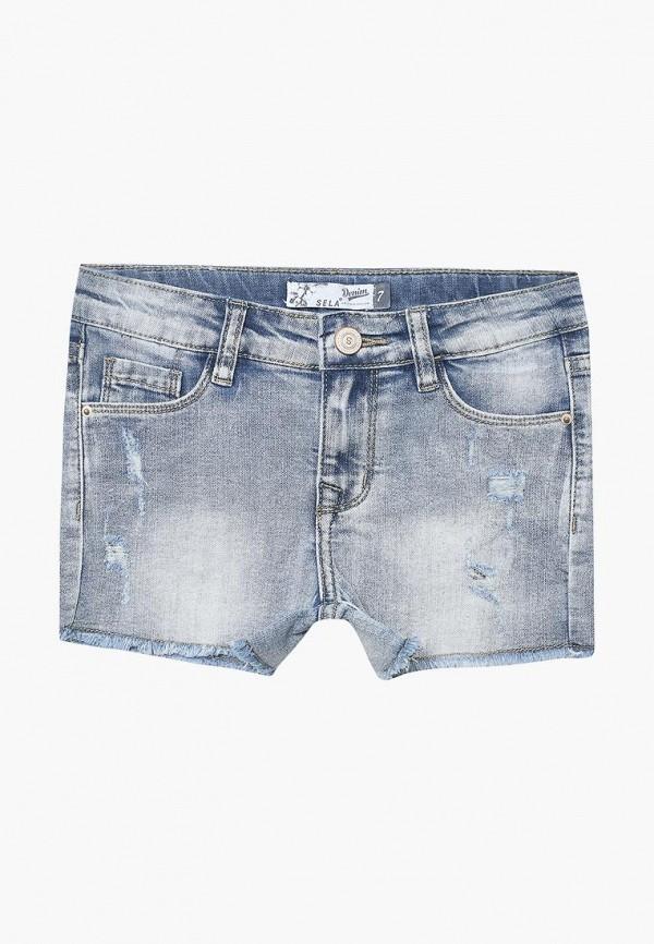 все цены на Шорты джинсовые Sela Sela SE001EGZMV00