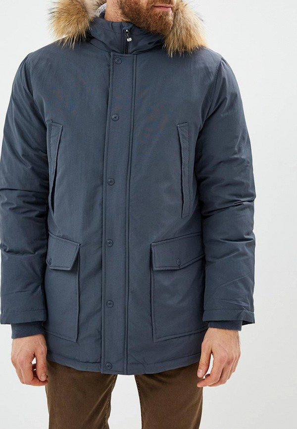 мужская куртка sela, серая