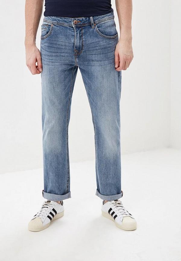 мужские прямые джинсы sela, голубые