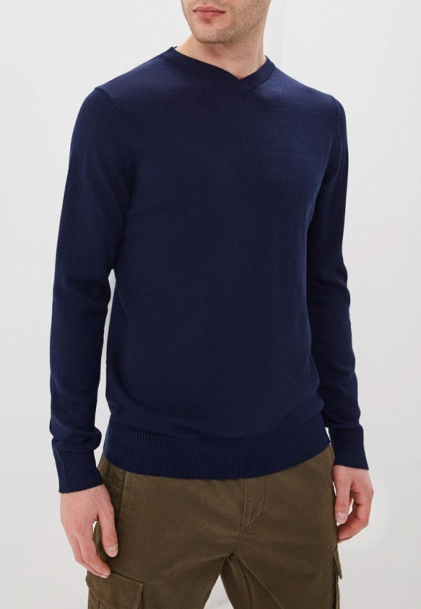 мужской пуловер sela, синий