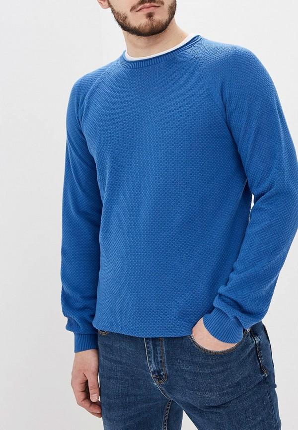 мужской джемпер sela, синий