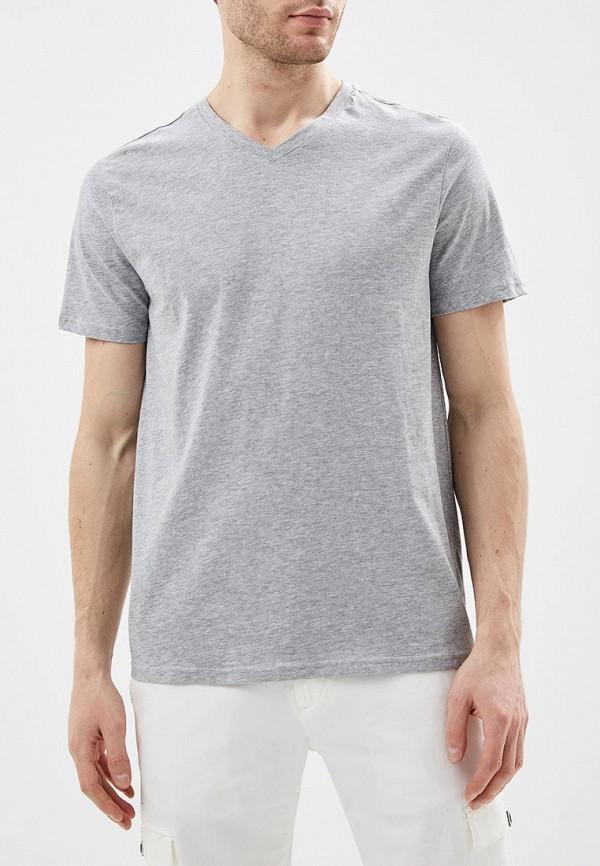 мужская футболка с коротким рукавом sela, серая