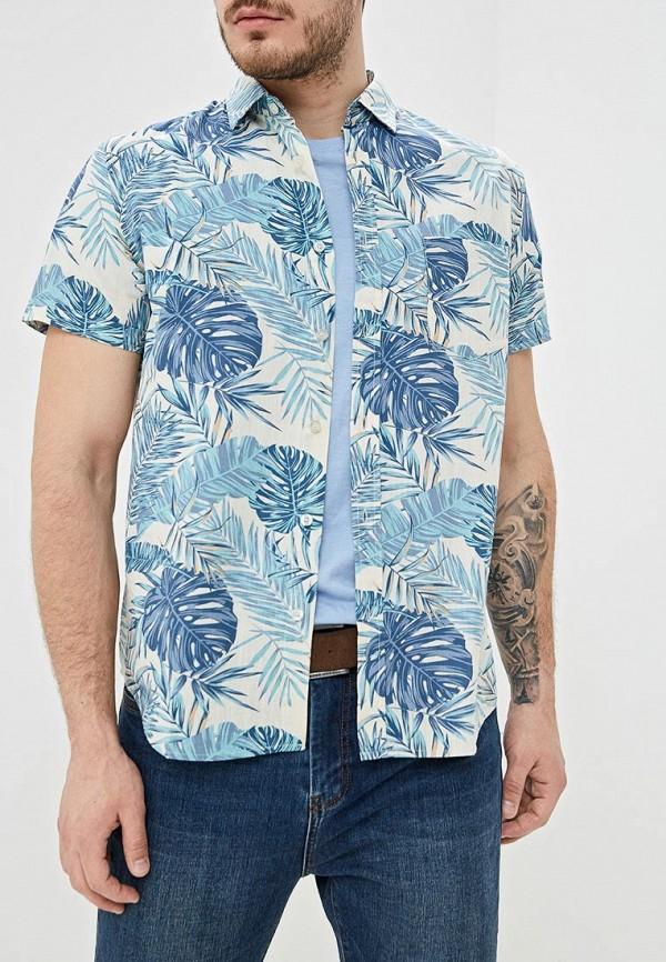 Фото - мужскую рубашку Sela синего цвета