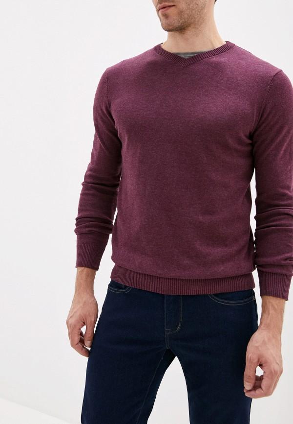 мужской пуловер sela, бордовый