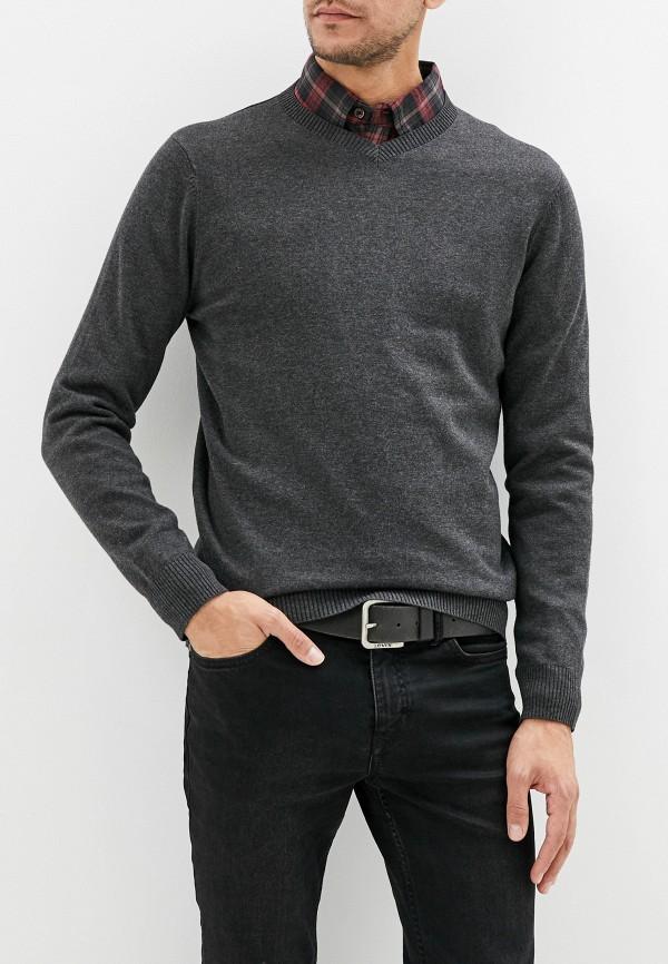 мужской пуловер sela, серый