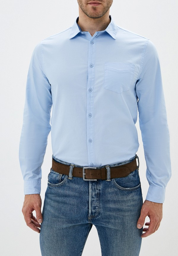 Рубашка Sela Sela SE001EMGAJG6 цена 2017