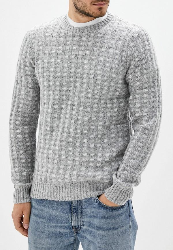 мужской джемпер sela, серый